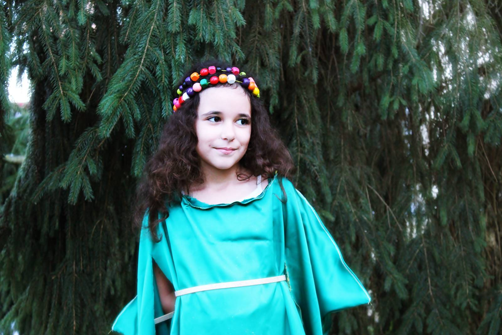 Robe medievale archer diy enfant blog 11
