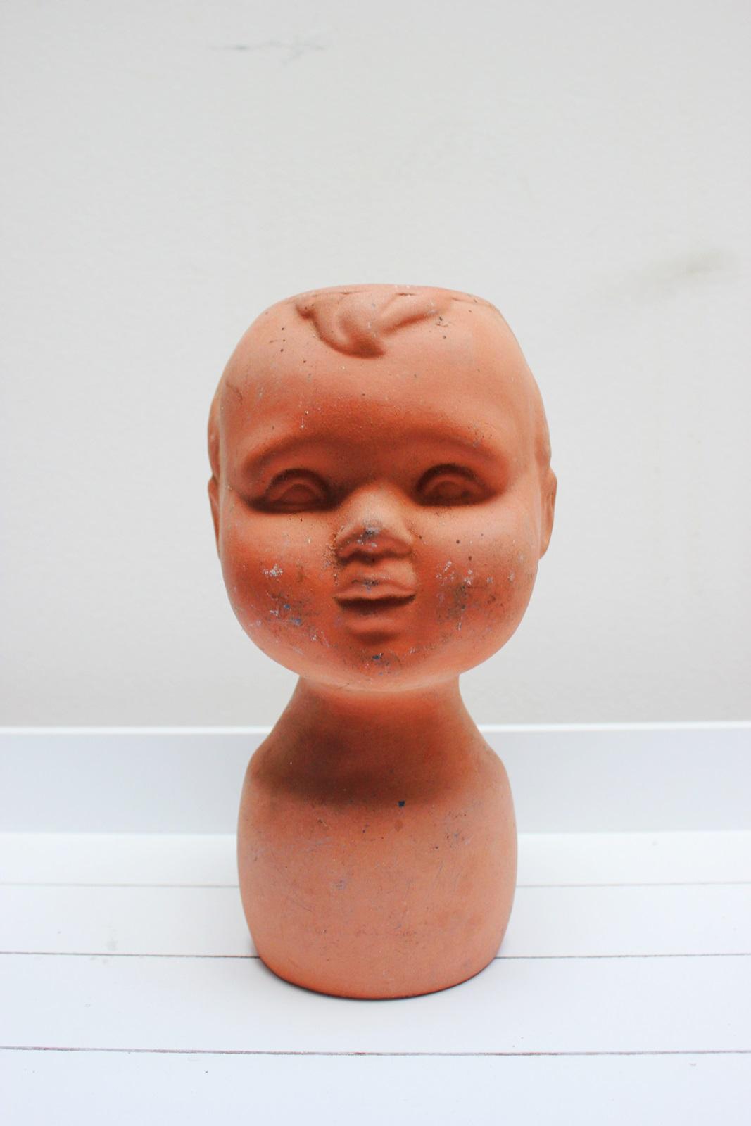 Tete poterie vintage blog