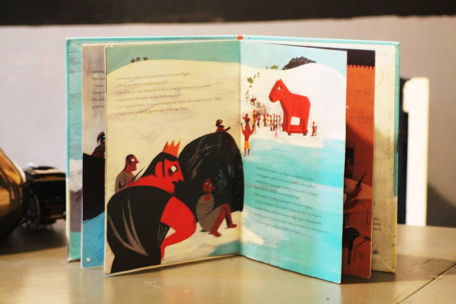 Ulysse et le cheval de troie milan jeunesse 1