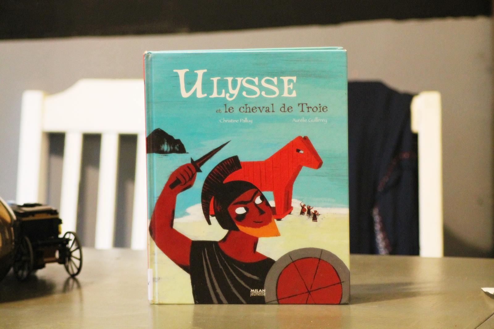 Ulysse et le cheval de troie milan jeunesse