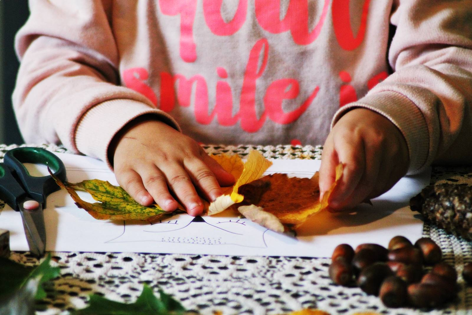 Activites automne enfant ief 2
