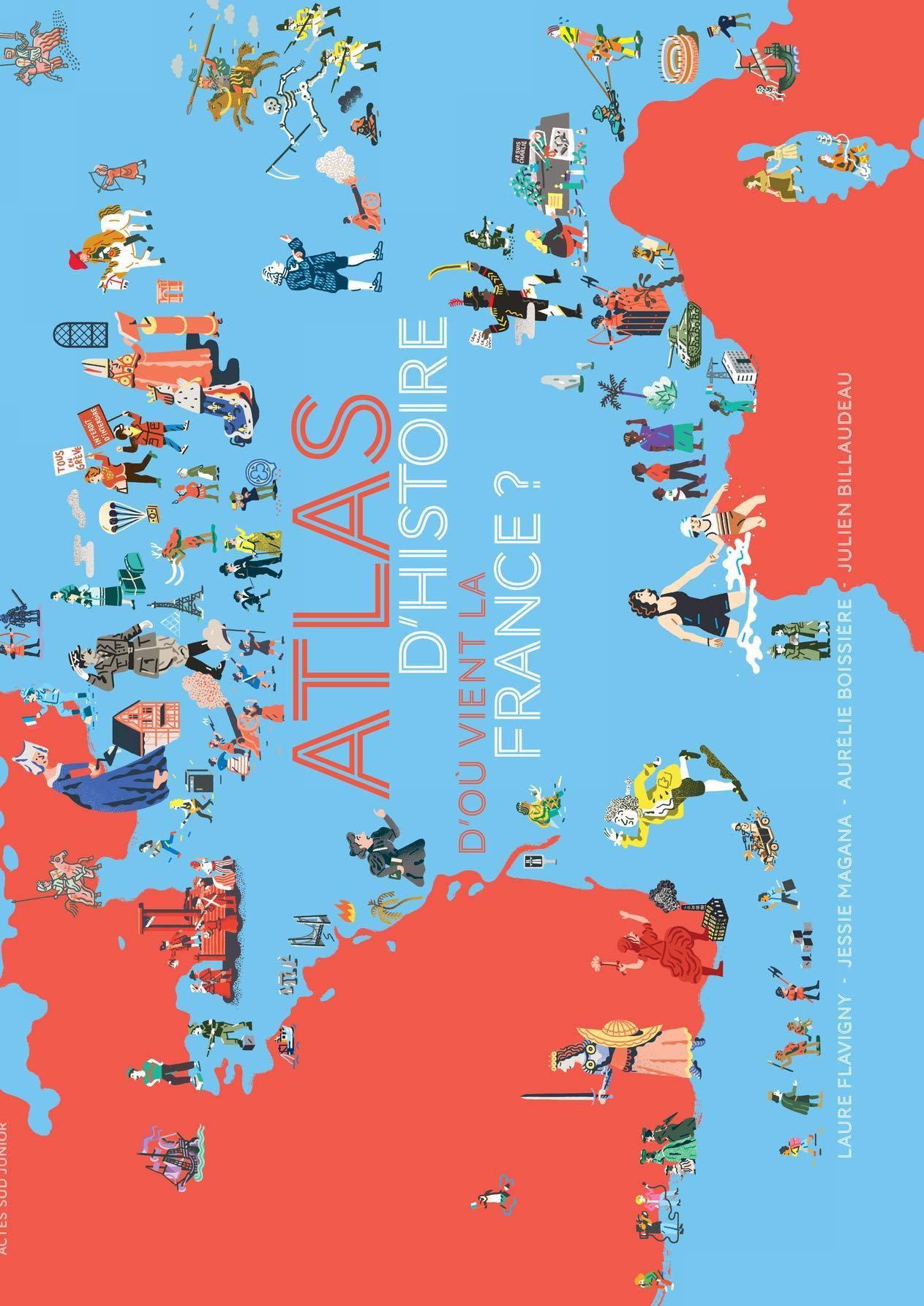 Atlas france histoire