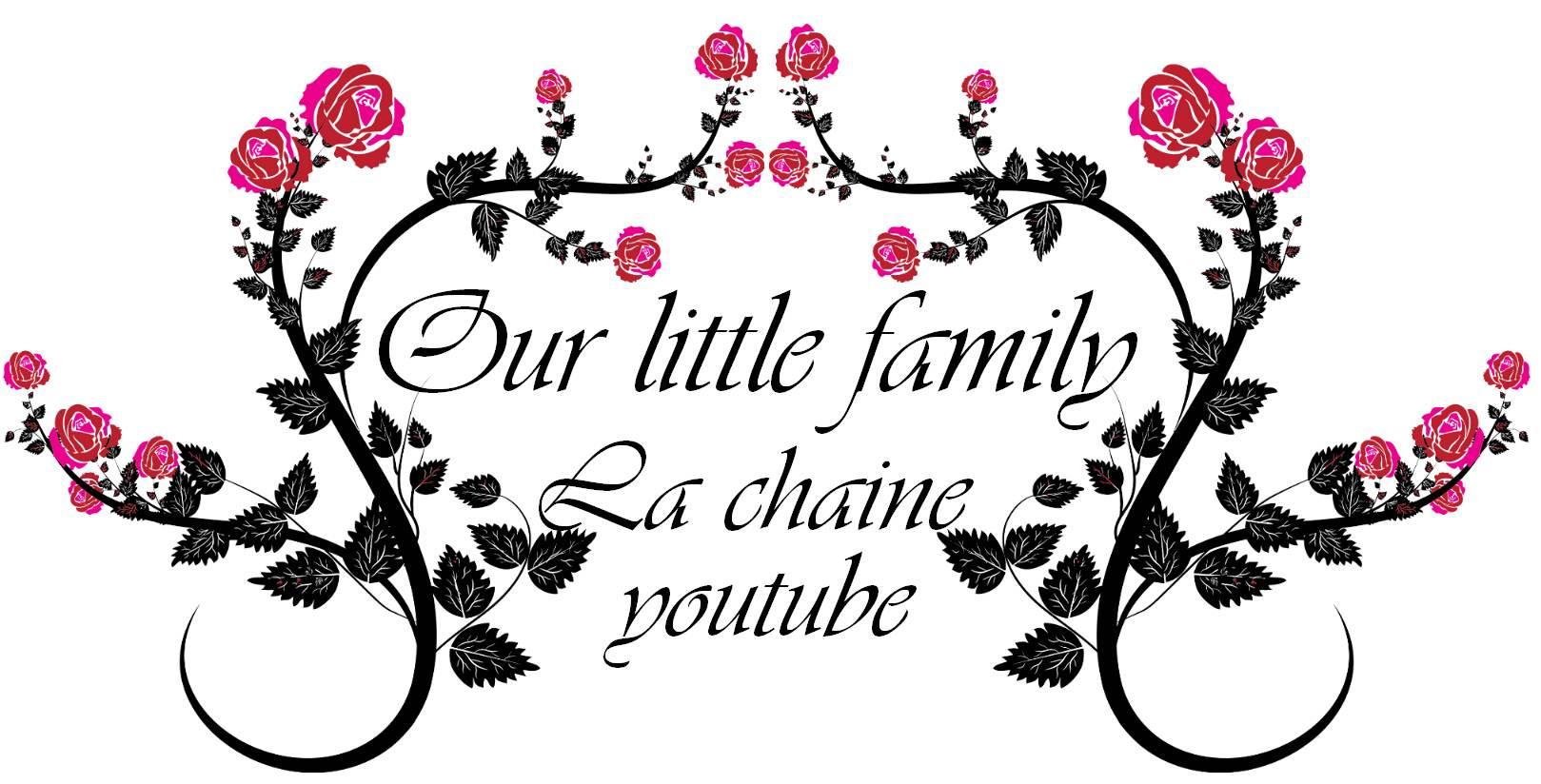 Blog logo youtube our little family