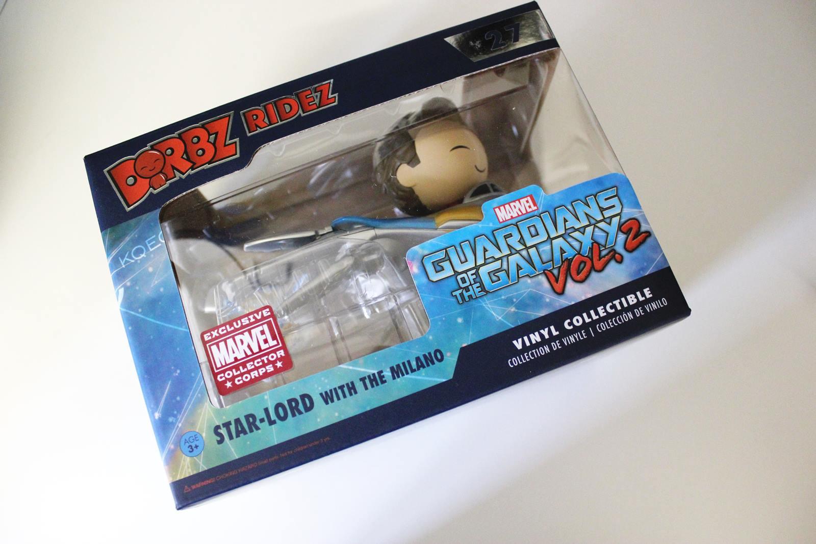Box marvel gardien de la galaxie groot 3