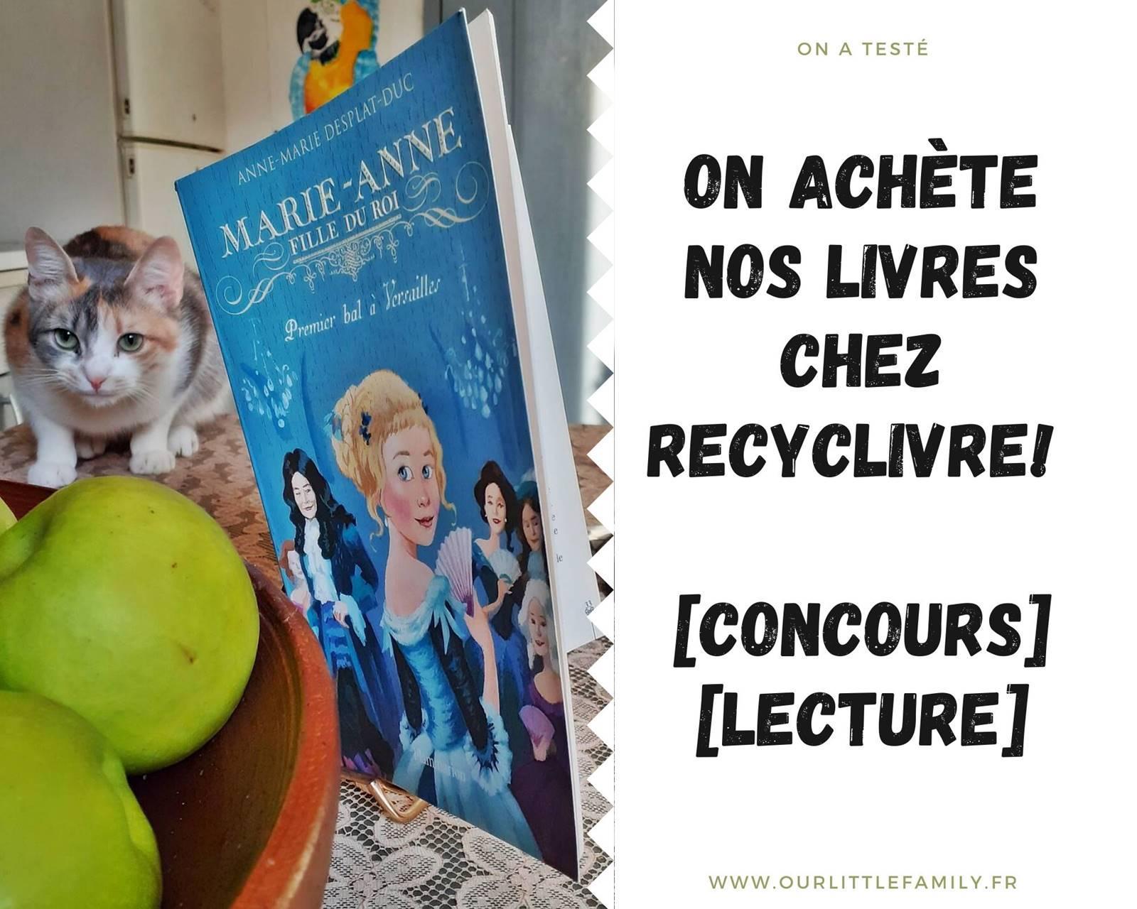 Concours recyclivre avis
