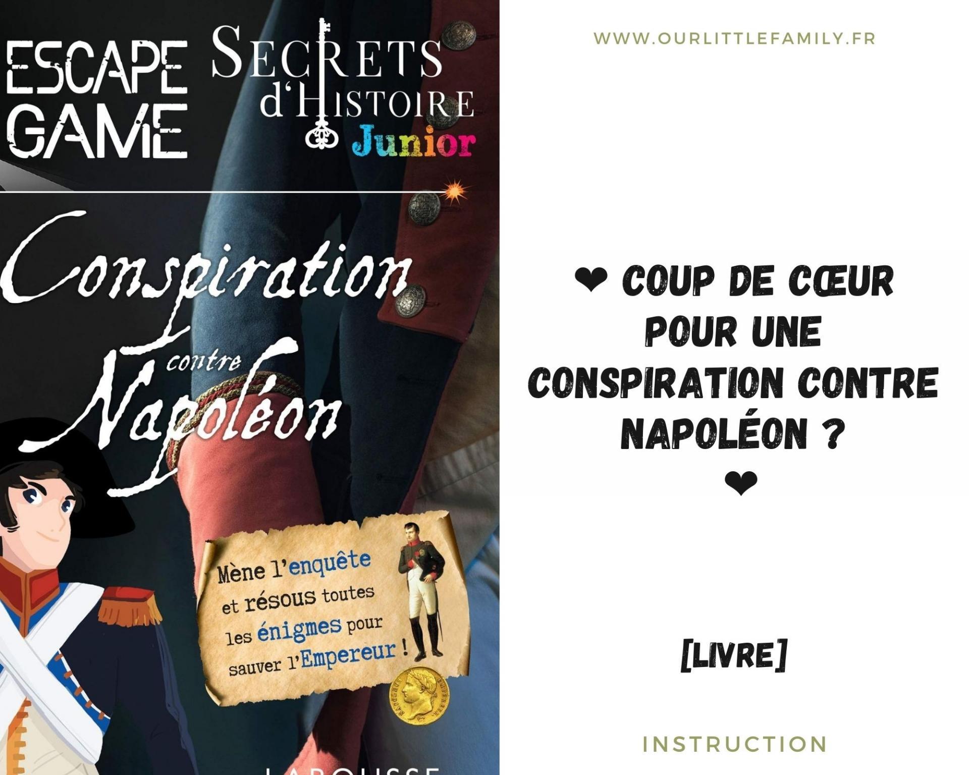 Coup de c ur pour une conspiration contre napoleon