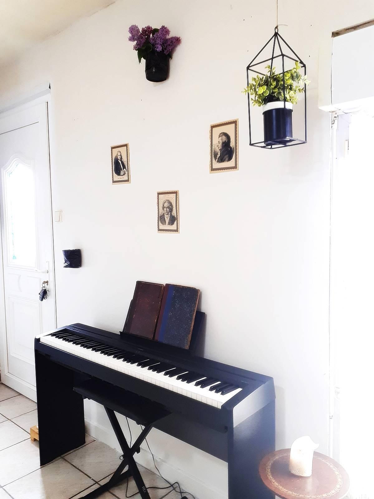 Decoration coin musique salon 3