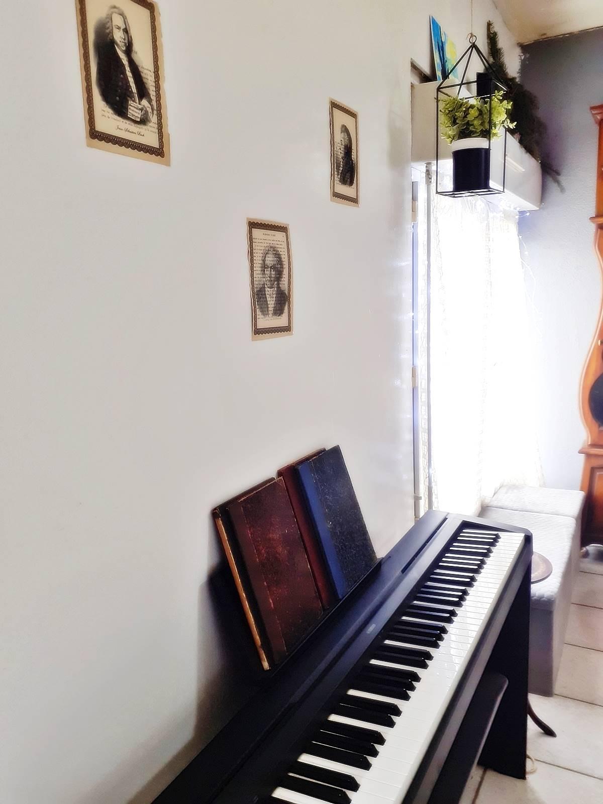 Decoration coin musique salon 4
