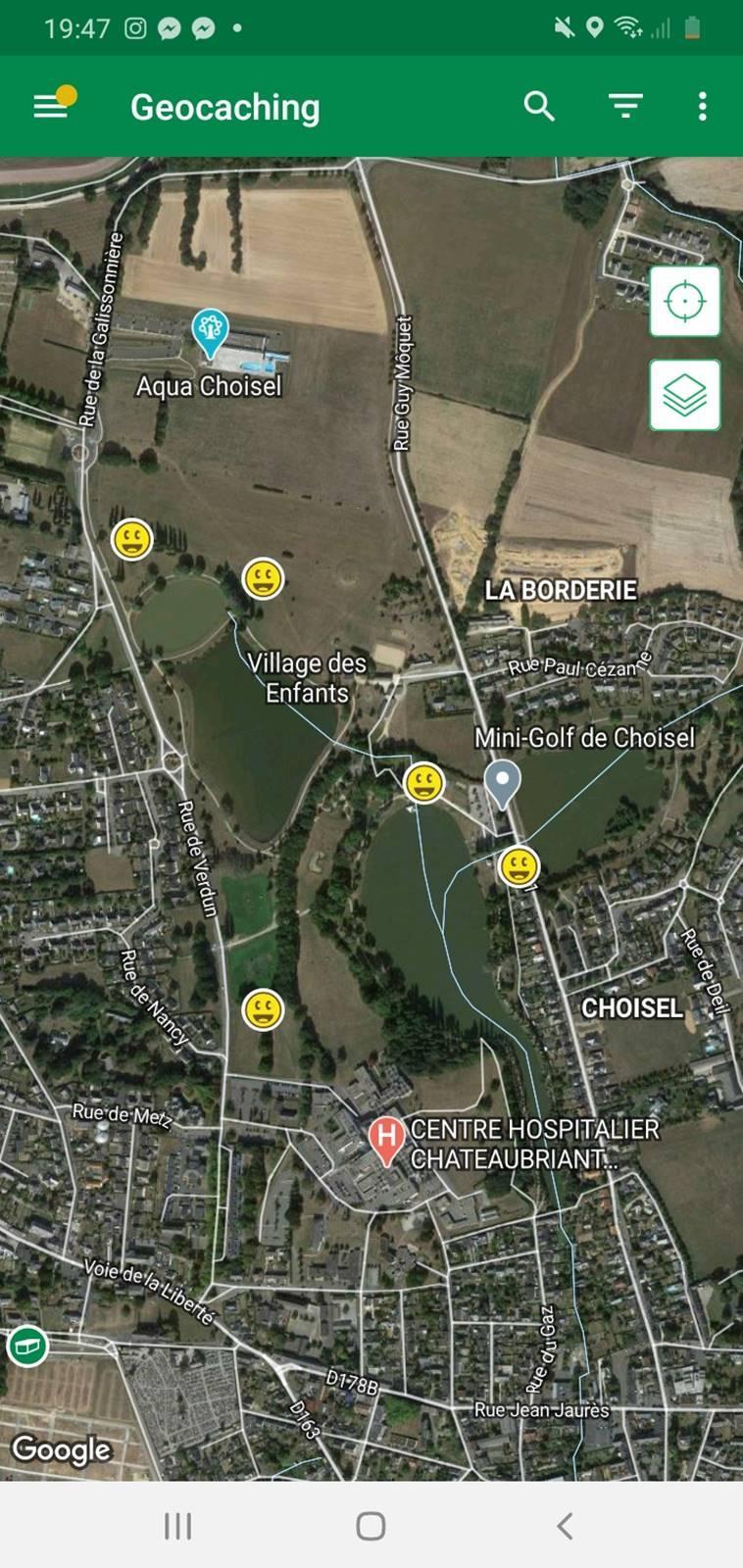 Geocaching chateaubriant choiselscreenshot 20201217 194723 geocaching
