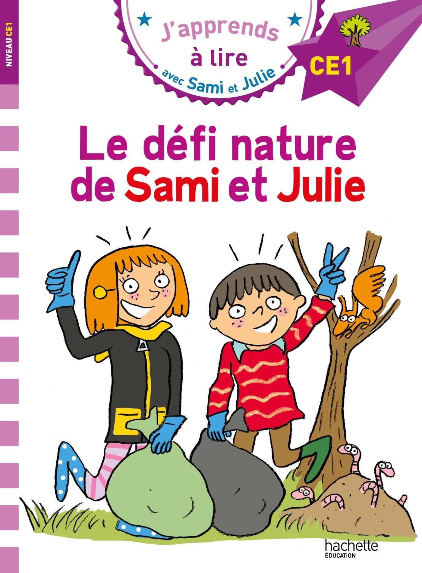 J apprends a lire avec sami et julie