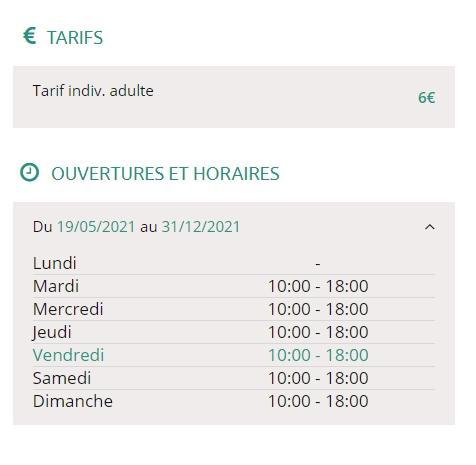 Jean lurcat horaire