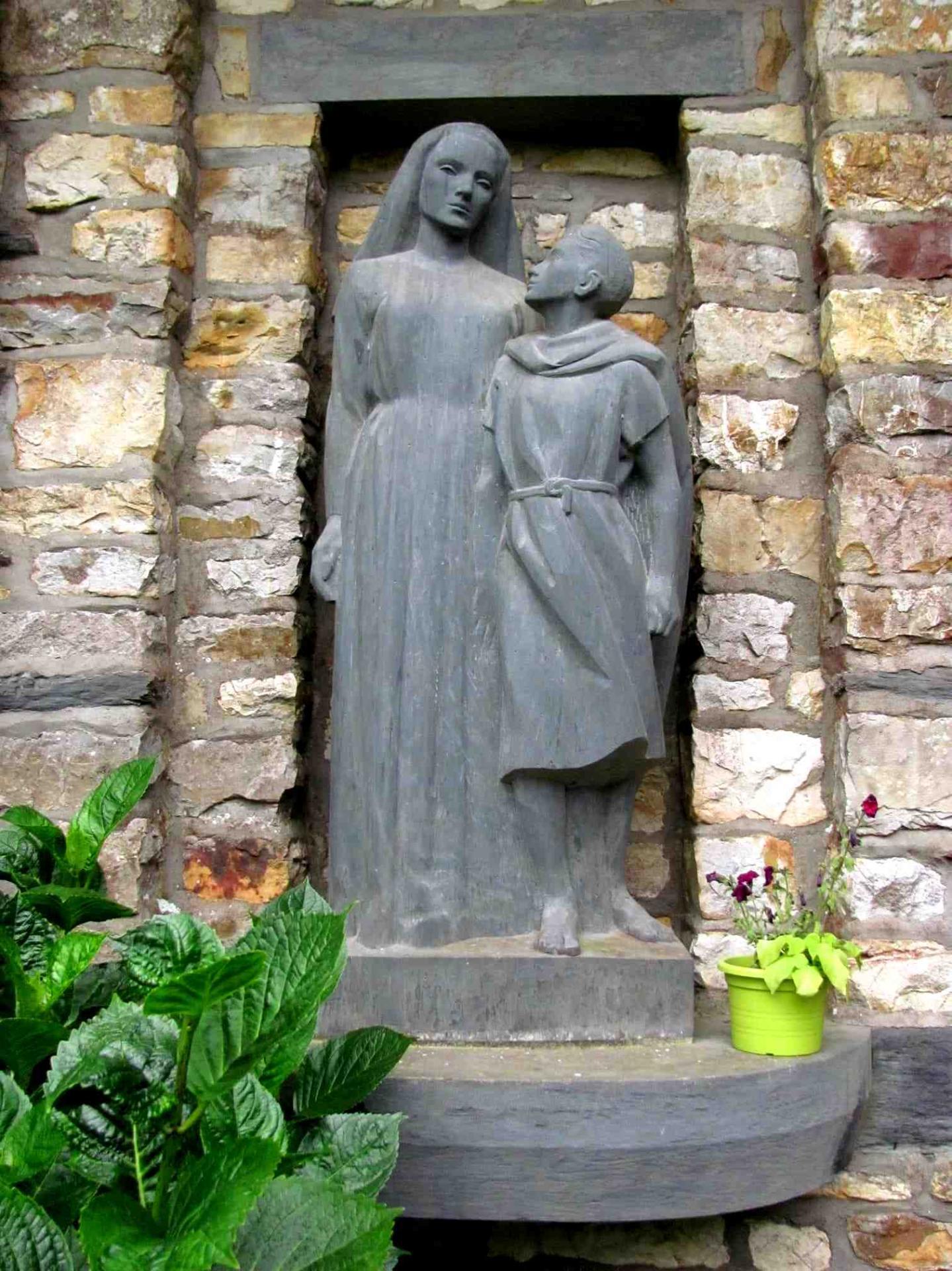 Jesus vierge adolescent saint donatien