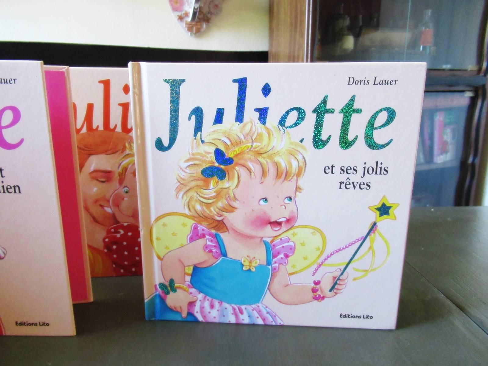 Juliette livre en cursive editions lito 1
