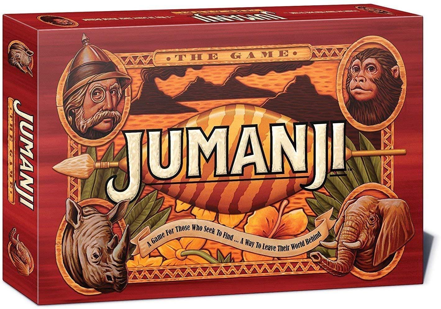Jumanji jeu de societe