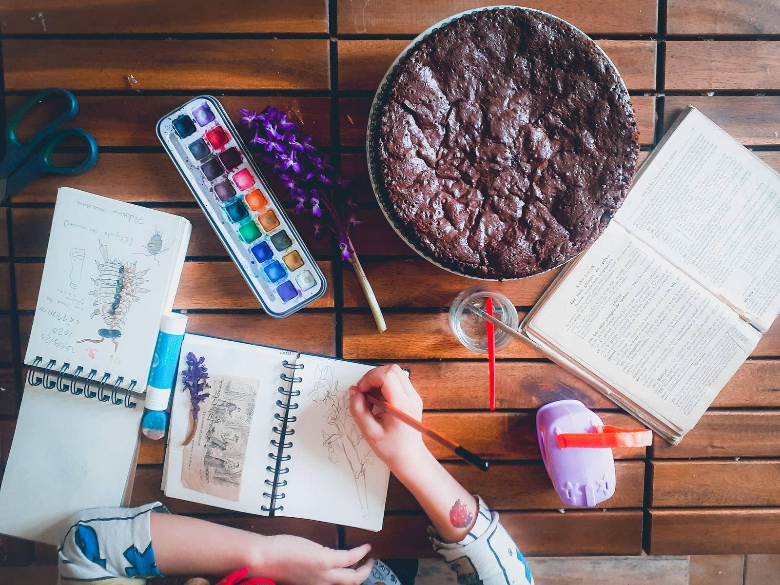 La recette du fondant au chocolat de fiston et un herbierpsx 20210425 173744