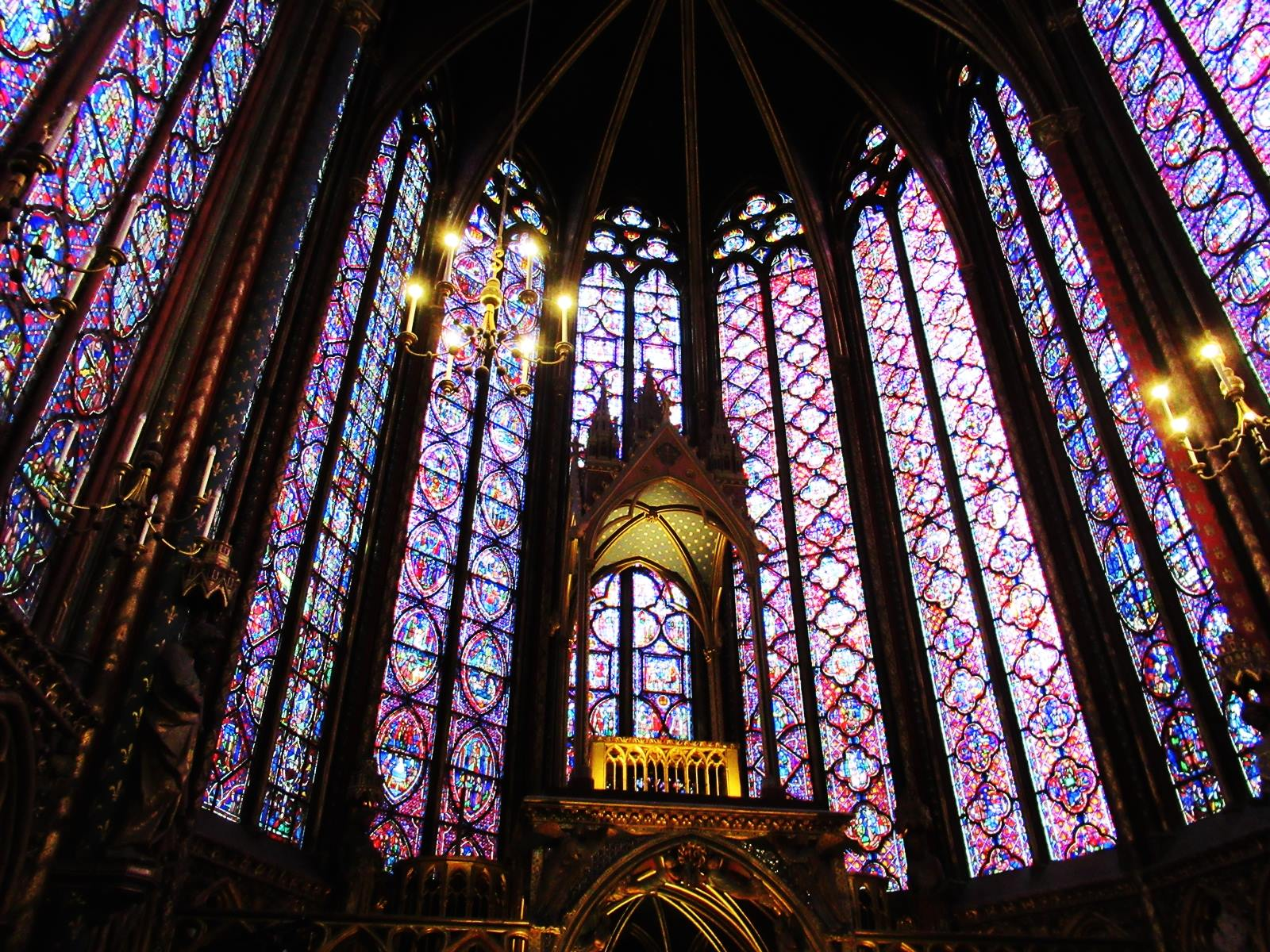 La sainte chapelle paris cite chateletparis 12