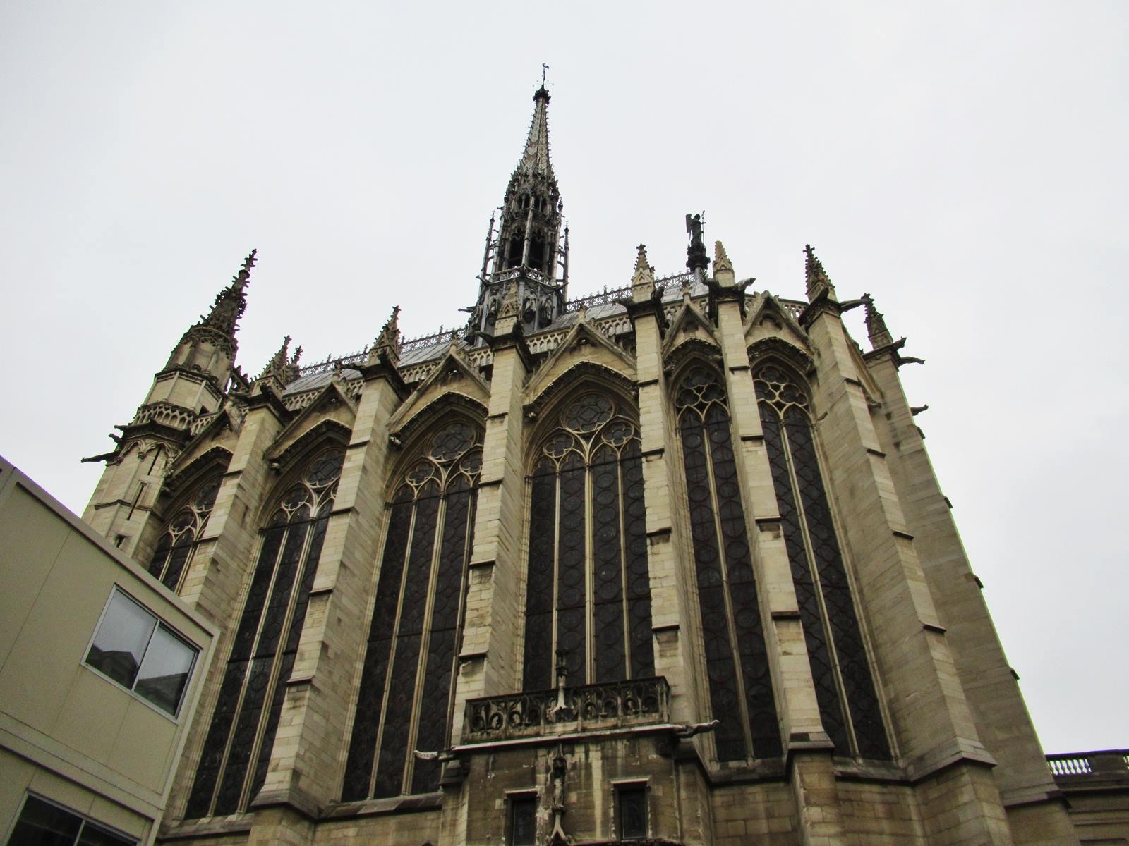 La sainte chapelle paris cite chateletparis 14