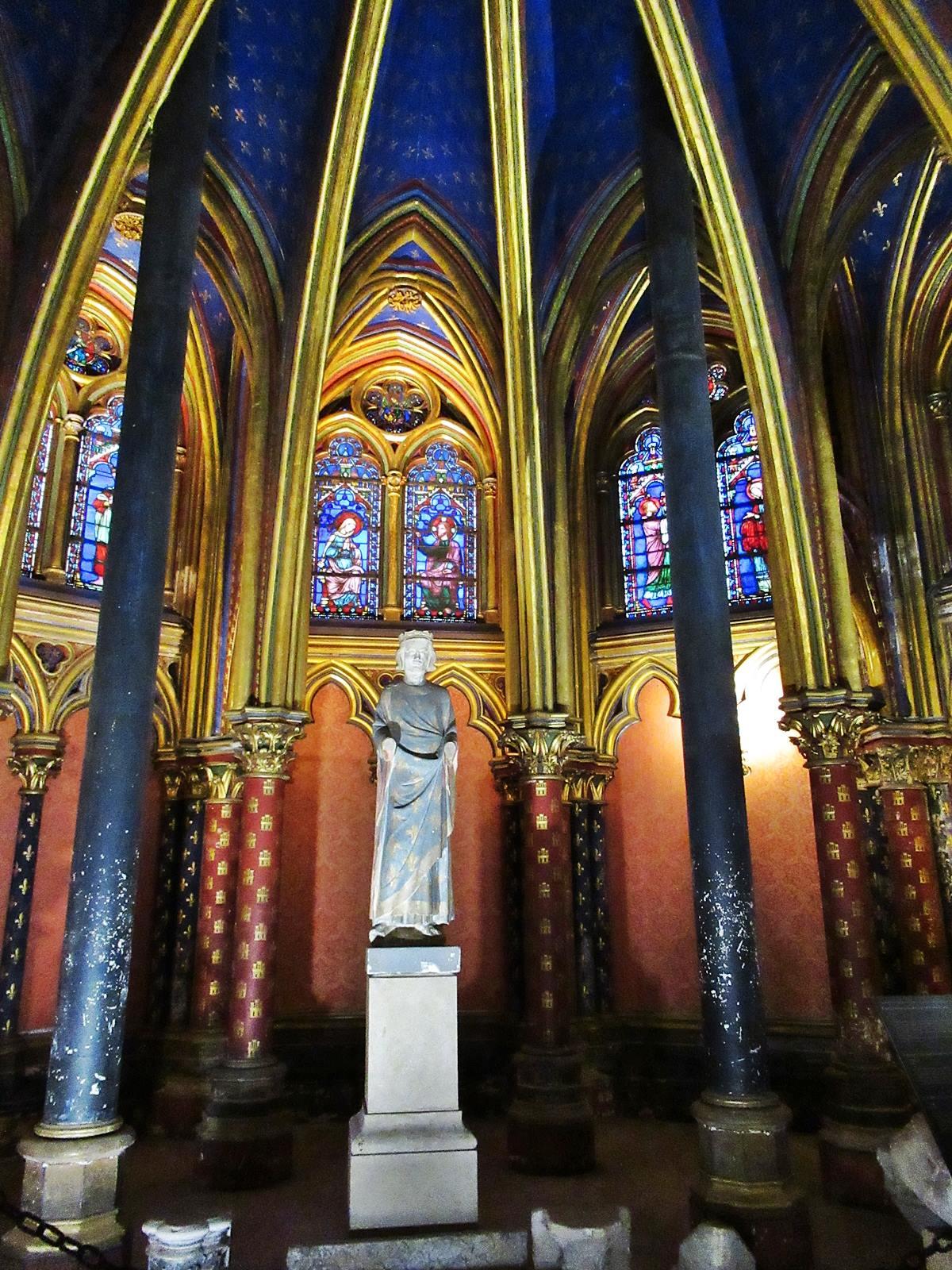 La sainte chapelle paris cite chateletsainte chapelle paris 1