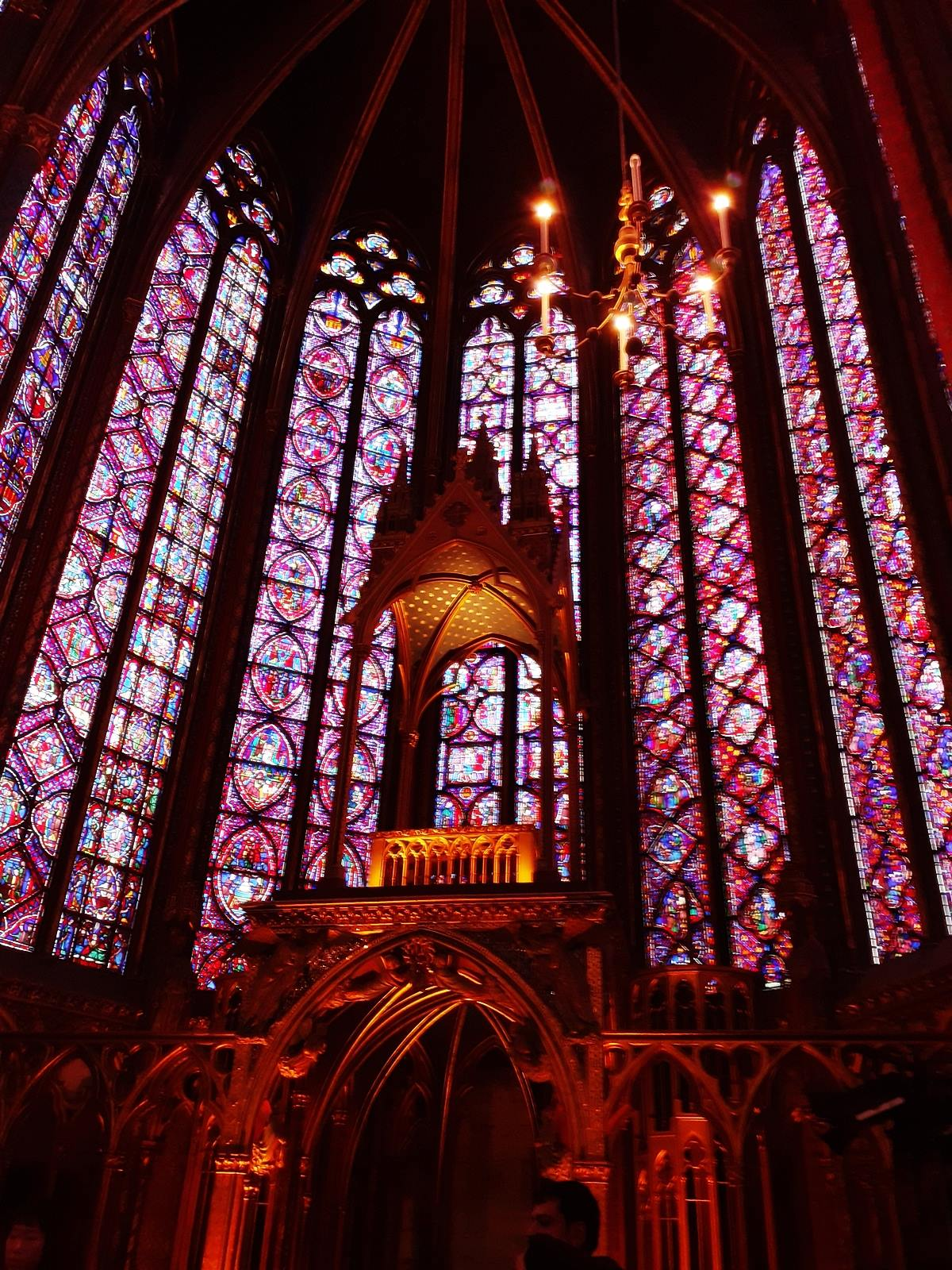 La sainte chapelle paris cite chateletsainte chapelle paris 12