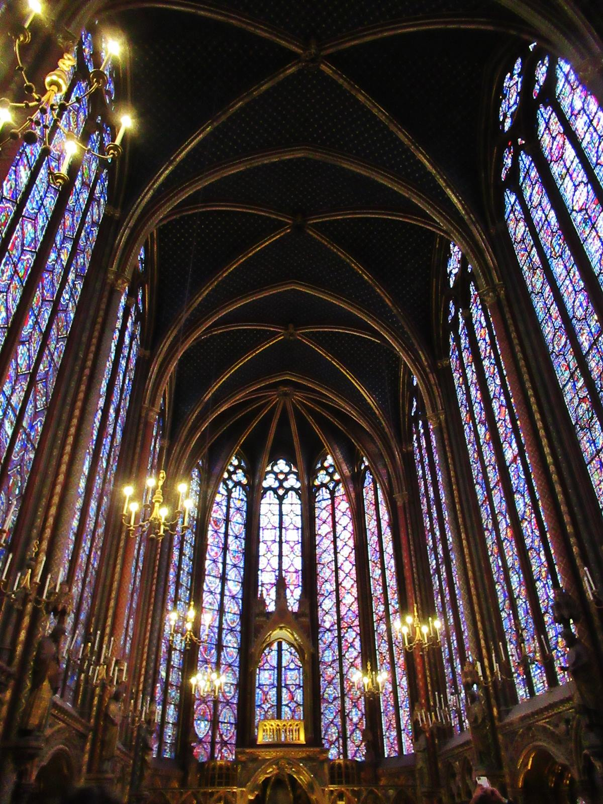 La sainte chapelle paris cite chateletsainte chapelle paris 3