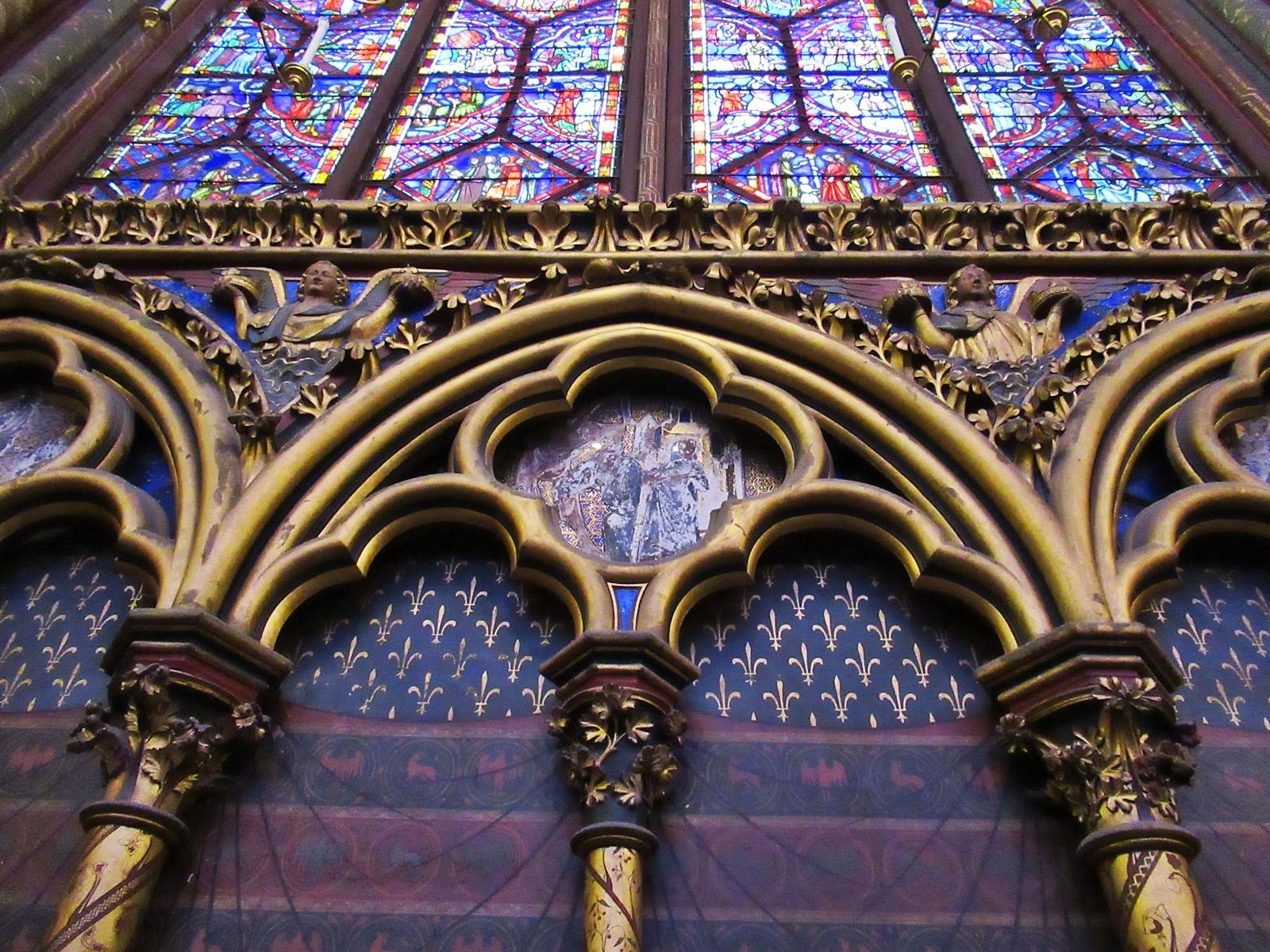 La sainte chapelle paris cite chateletsainte chapelle paris 6