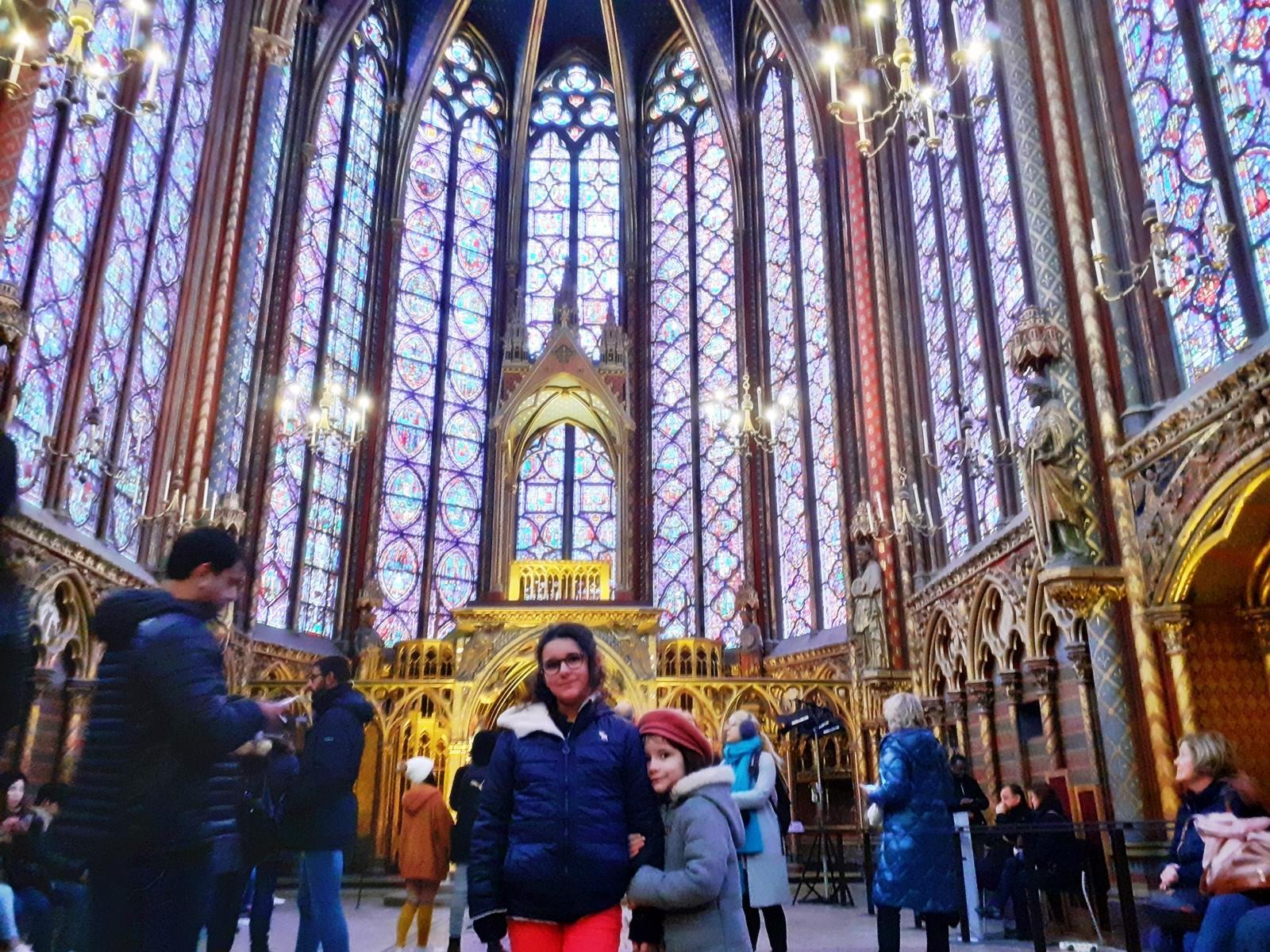 La sainte chapelle paris cite chatelet