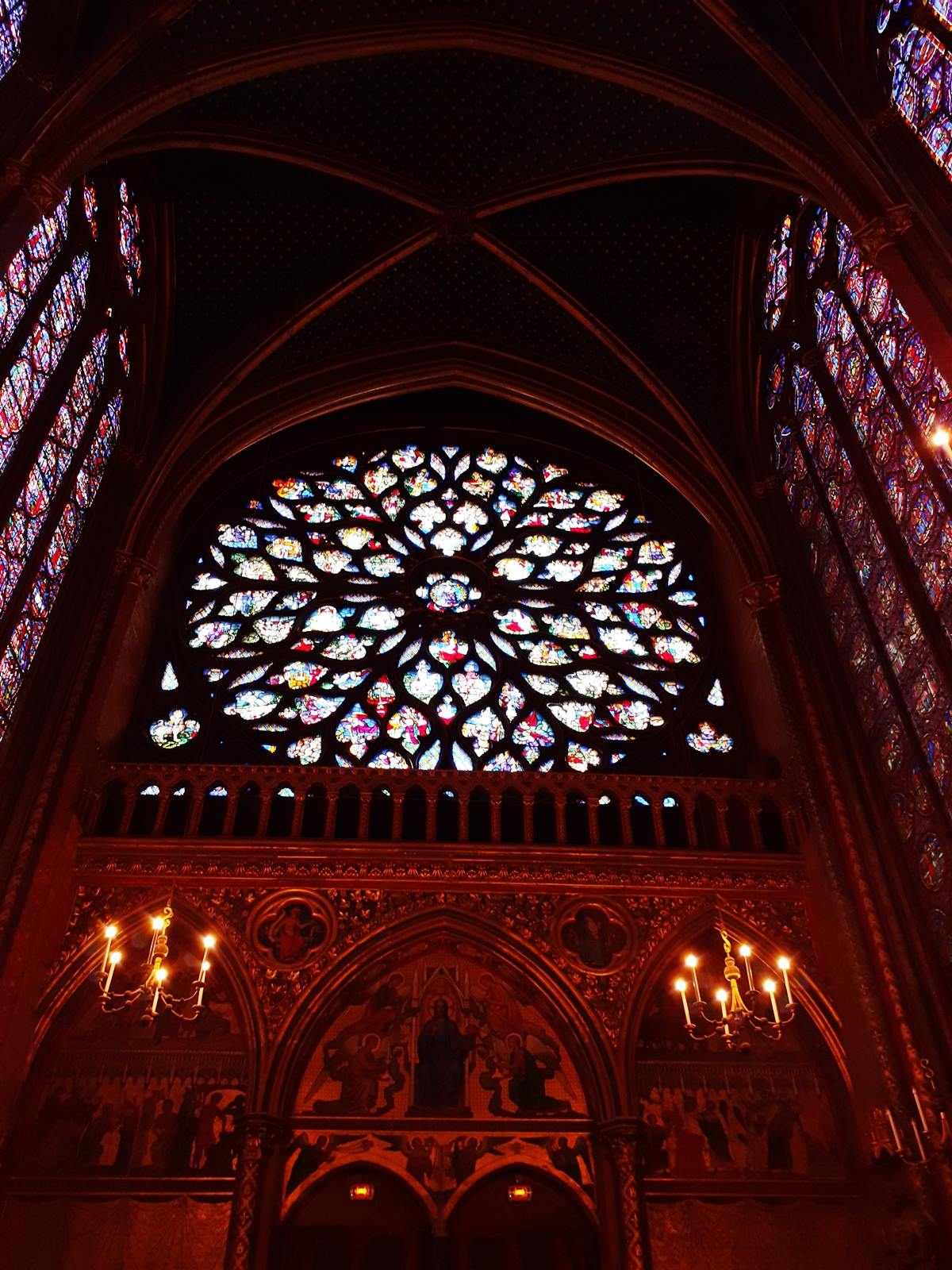 La sainte chapelle paris cite chateletsainte chapelle paris 9