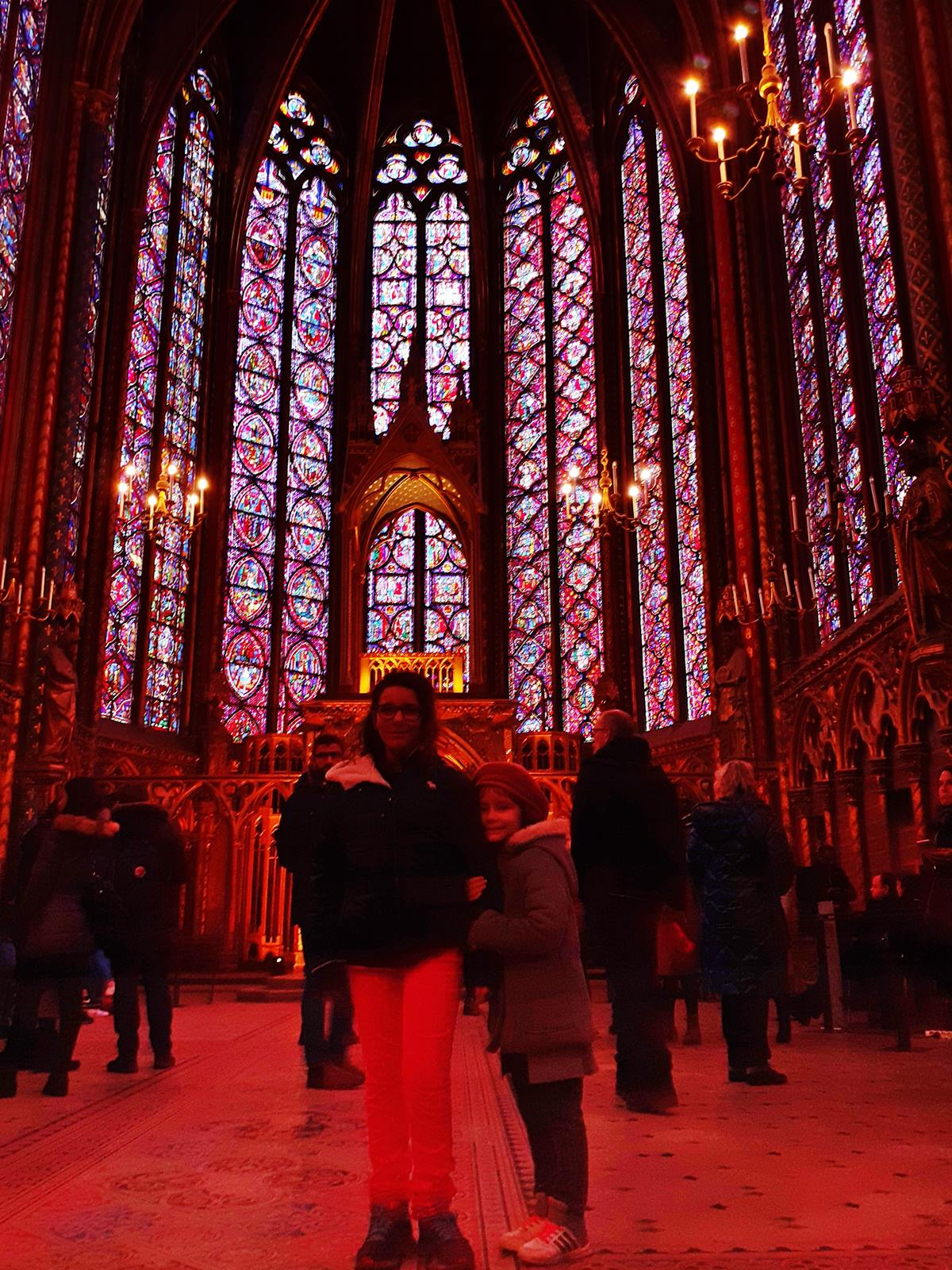 La sainte chapelle paris cite chateletsainte chapelle paris