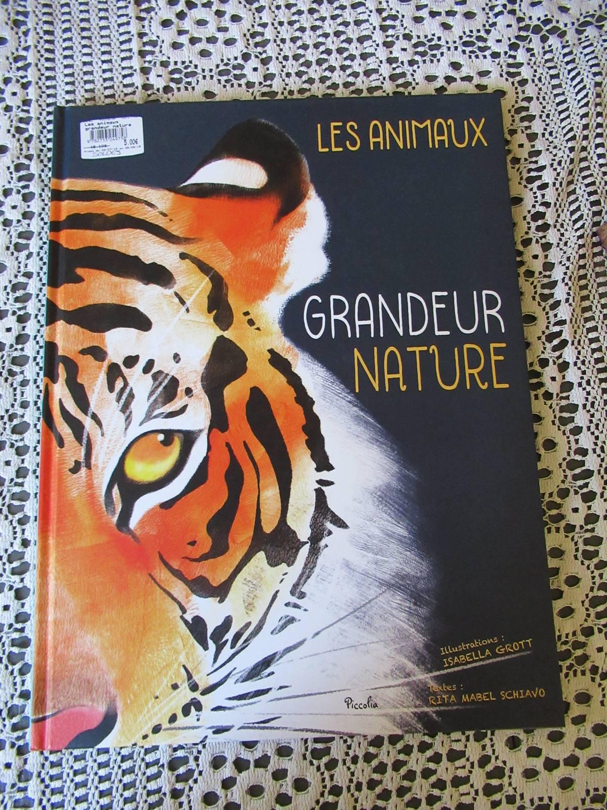 Les animaux grandeur nature