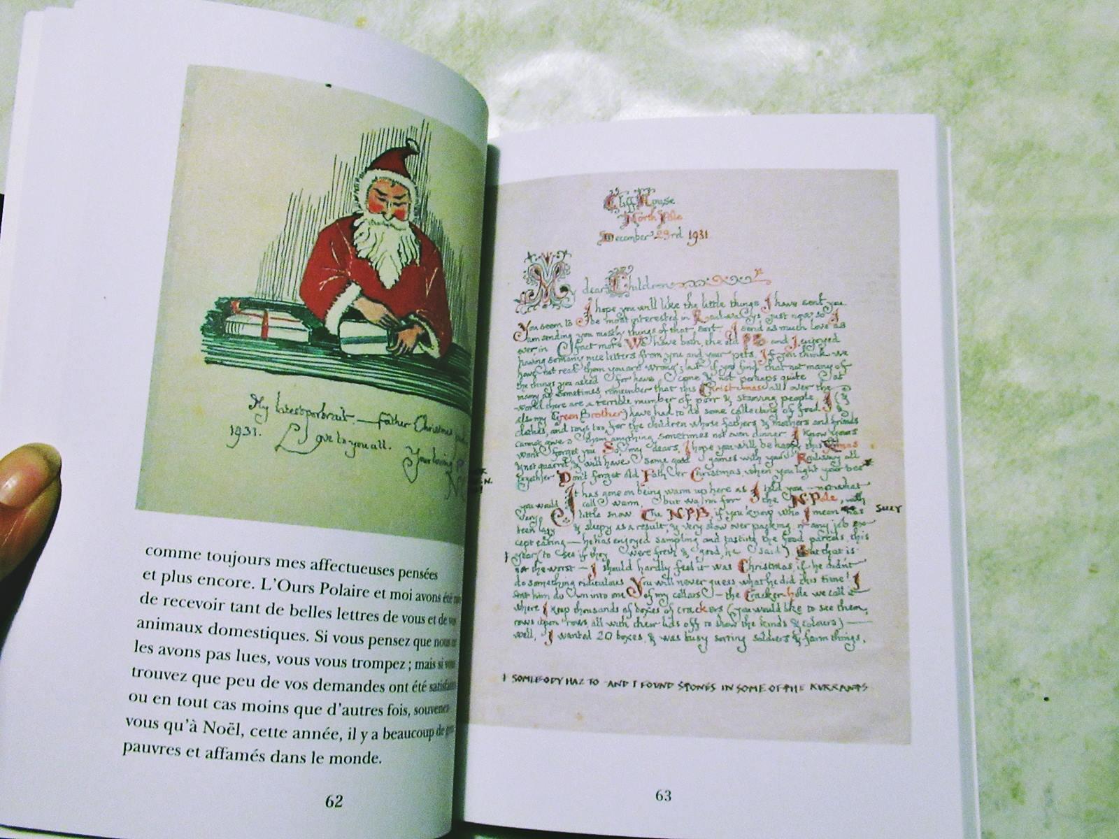 Lettres du pere noel tolkien 2