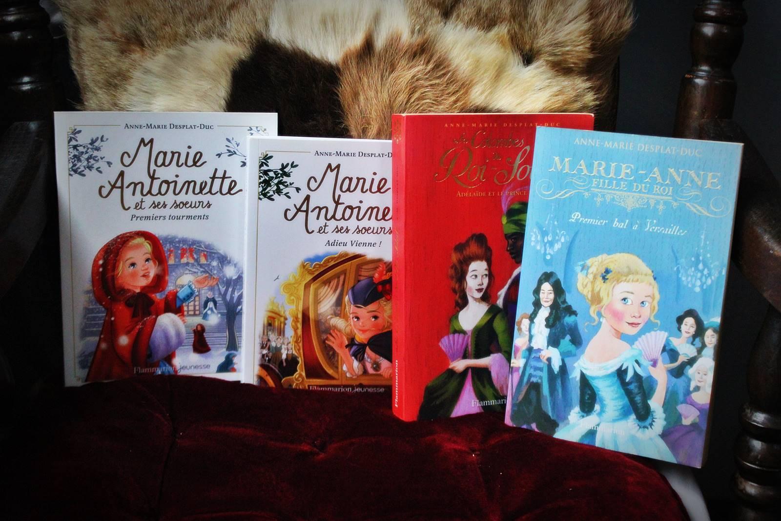 Living book anne marie desplat duc flammarion versaille