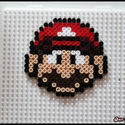 Mario en perles Hama DIY