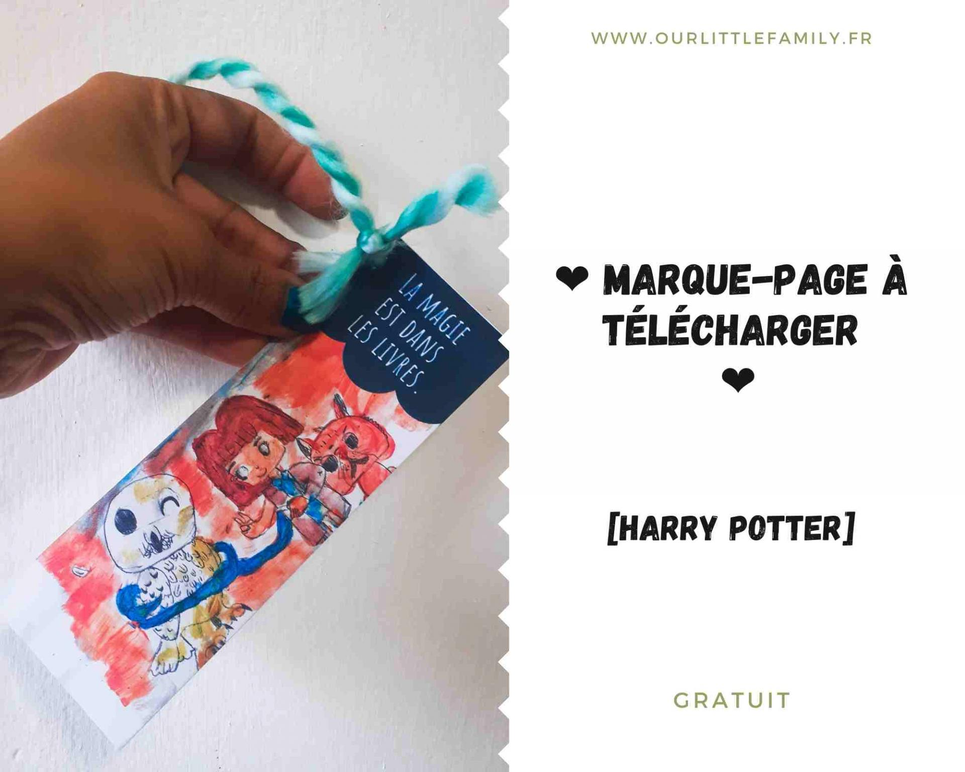 Marque page a telecharger