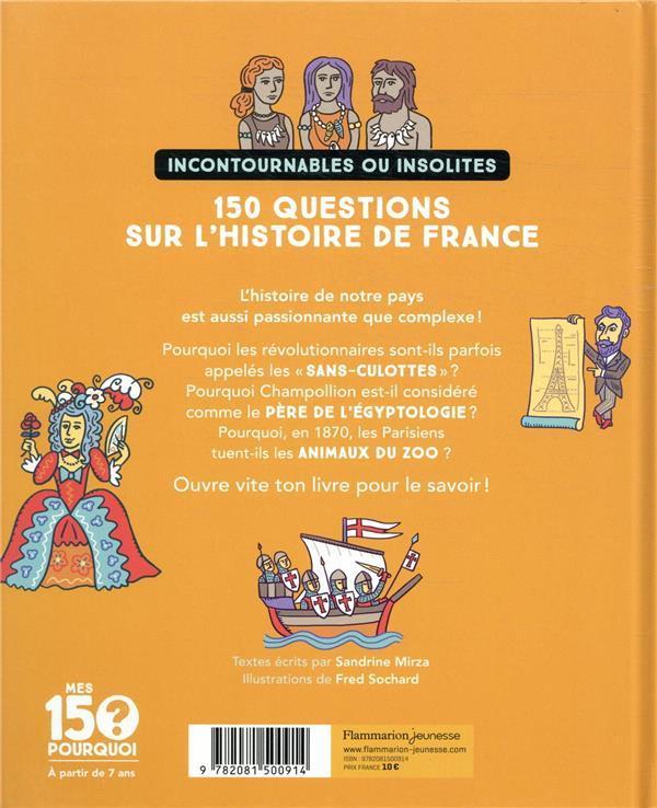 Mes 150 pourquoi l histoire de france 2