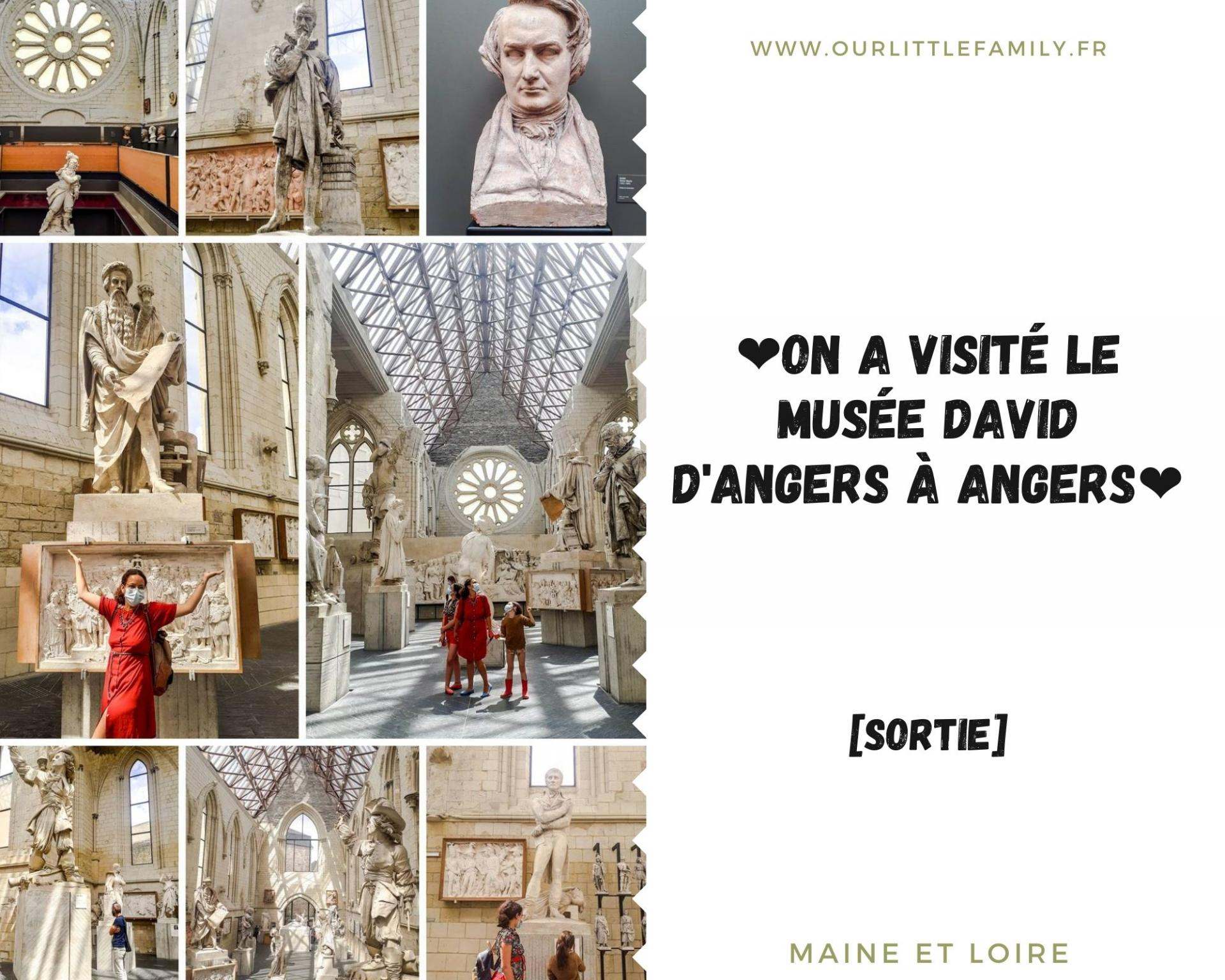 On a visite le musee david d angers a angers