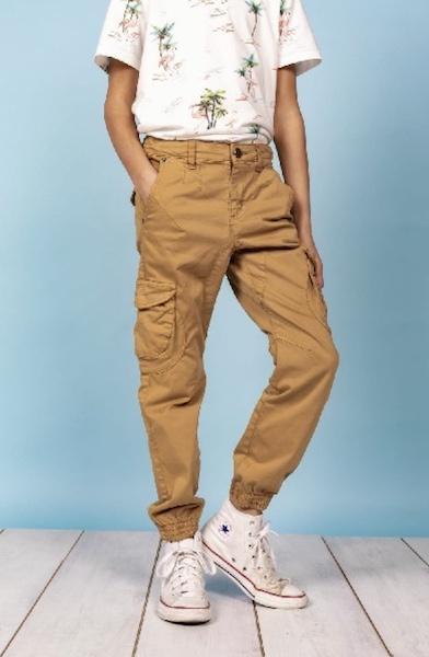Pantalon slim cargo garden