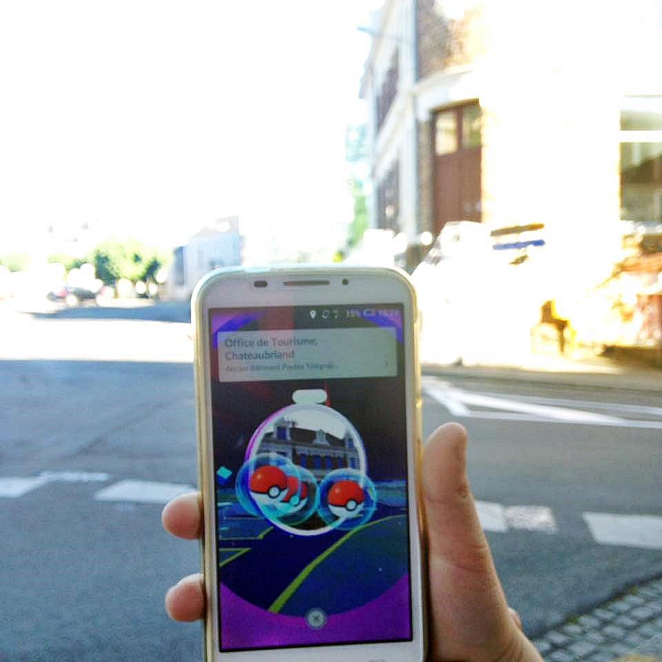 Pokemon go chateaubriant 2