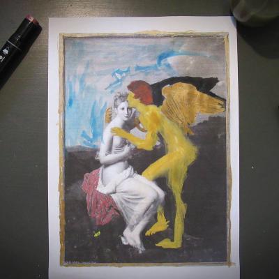 Psyche et cupidon 2