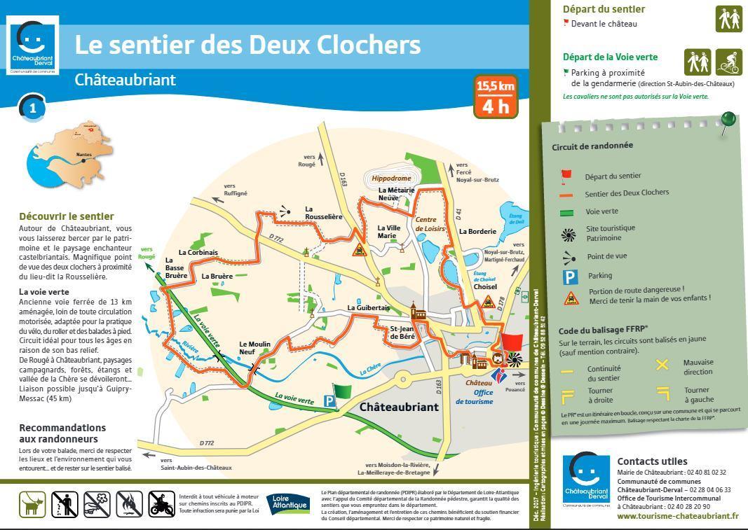 Randonnee 15km chateaubriant