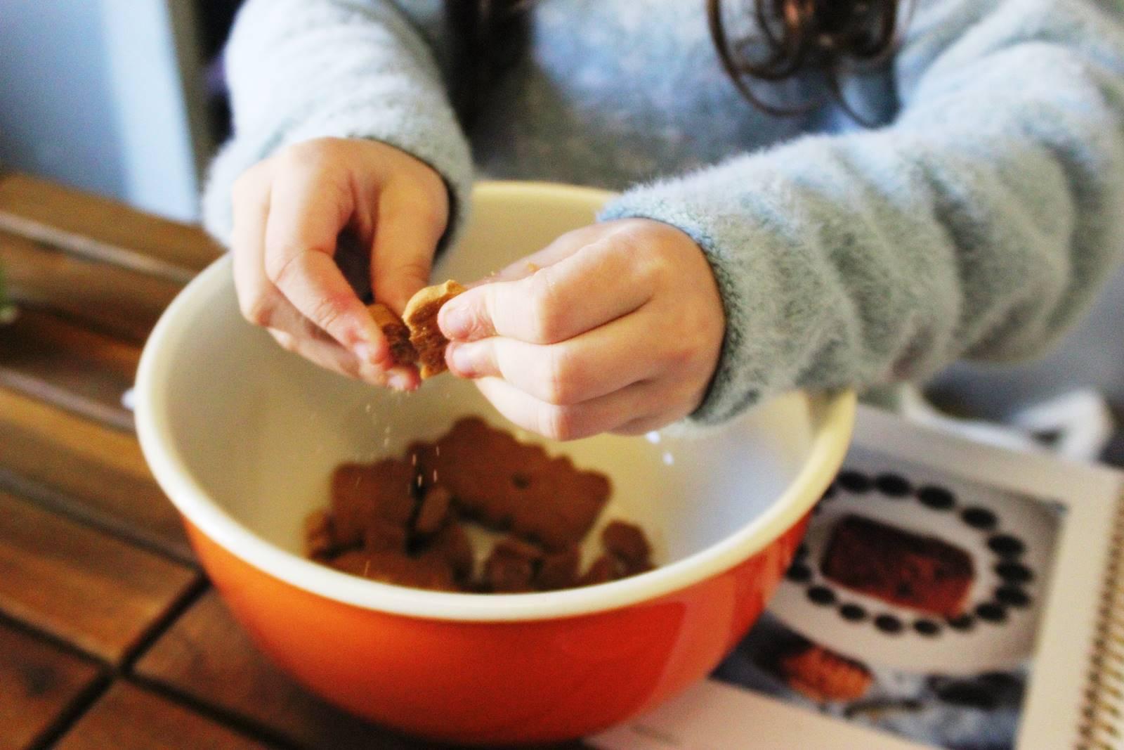 Recette fondant chocolat sans cuisson au speculoos hameaux bioimg 8459