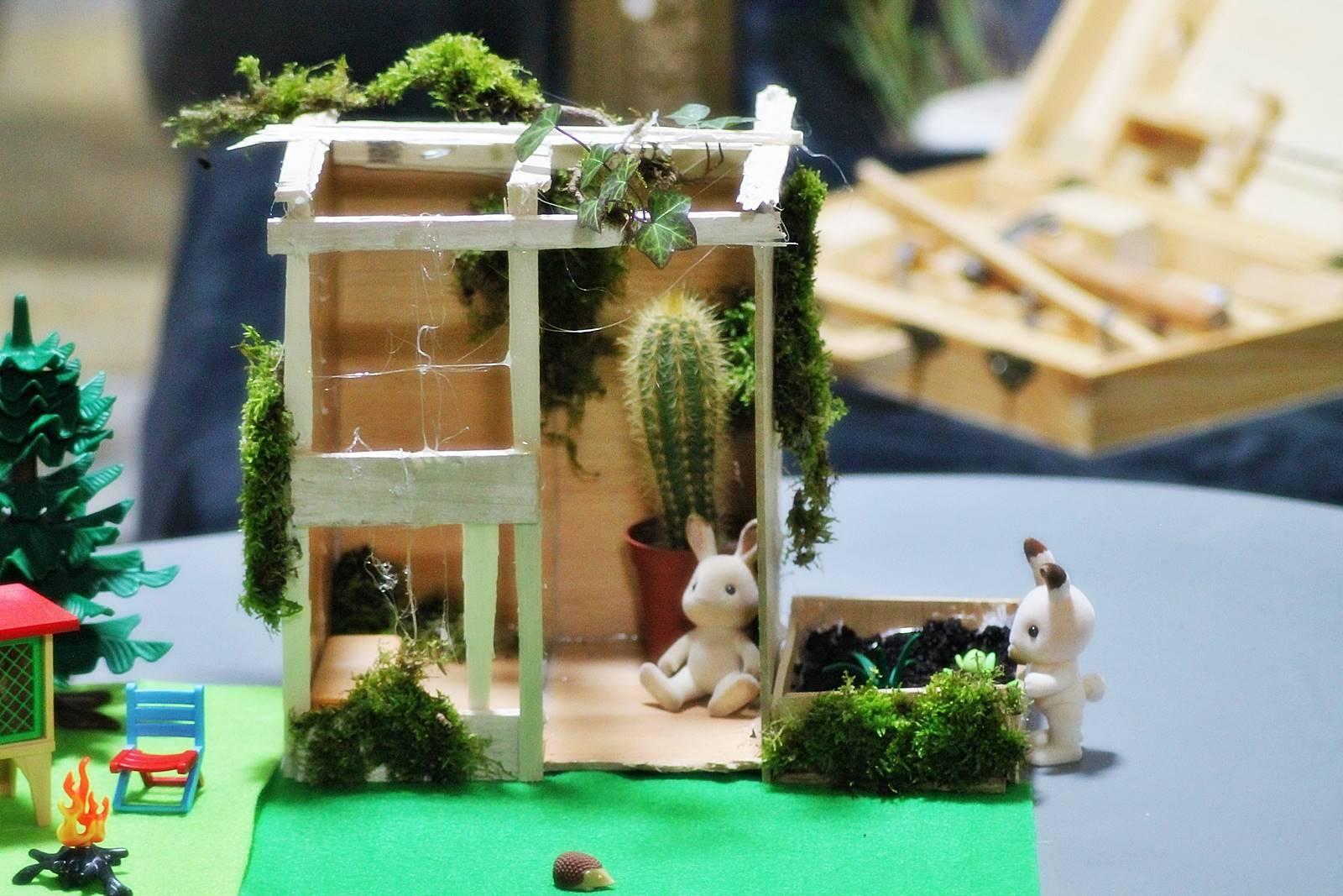 Serre jardin syvlanian playmobilsylvanian 2