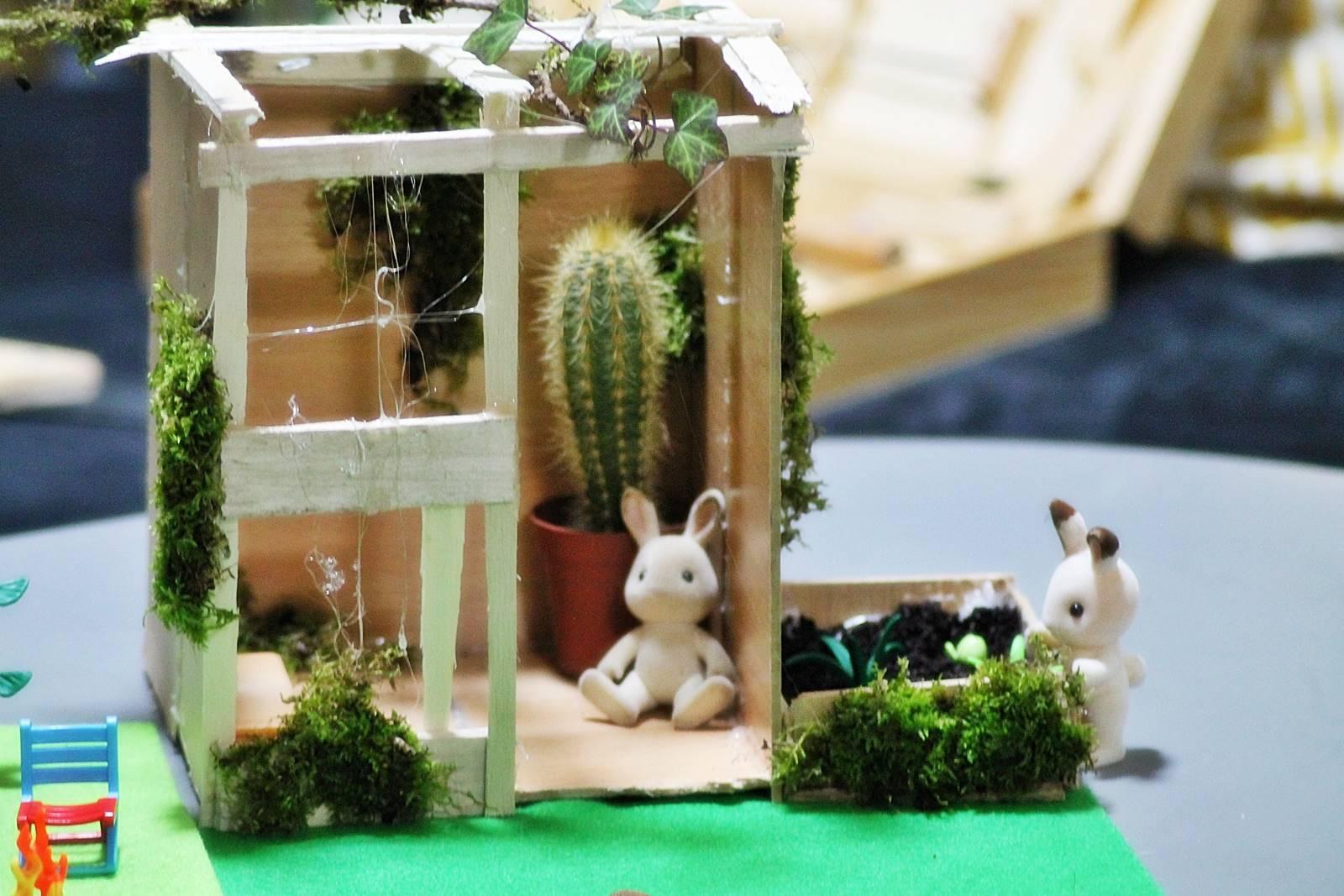 Serre jardin syvlanian playmobilsylvanian 4