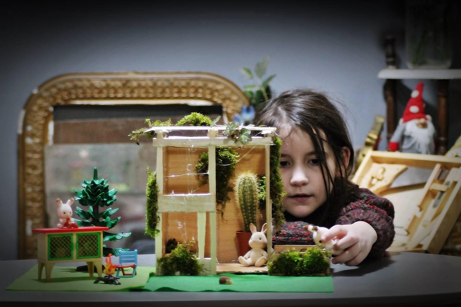 Serre jardin syvlanian playmobilsylvanian