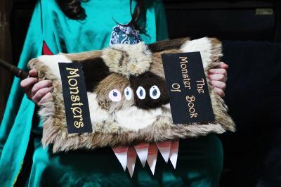 The monster book of monsters diy