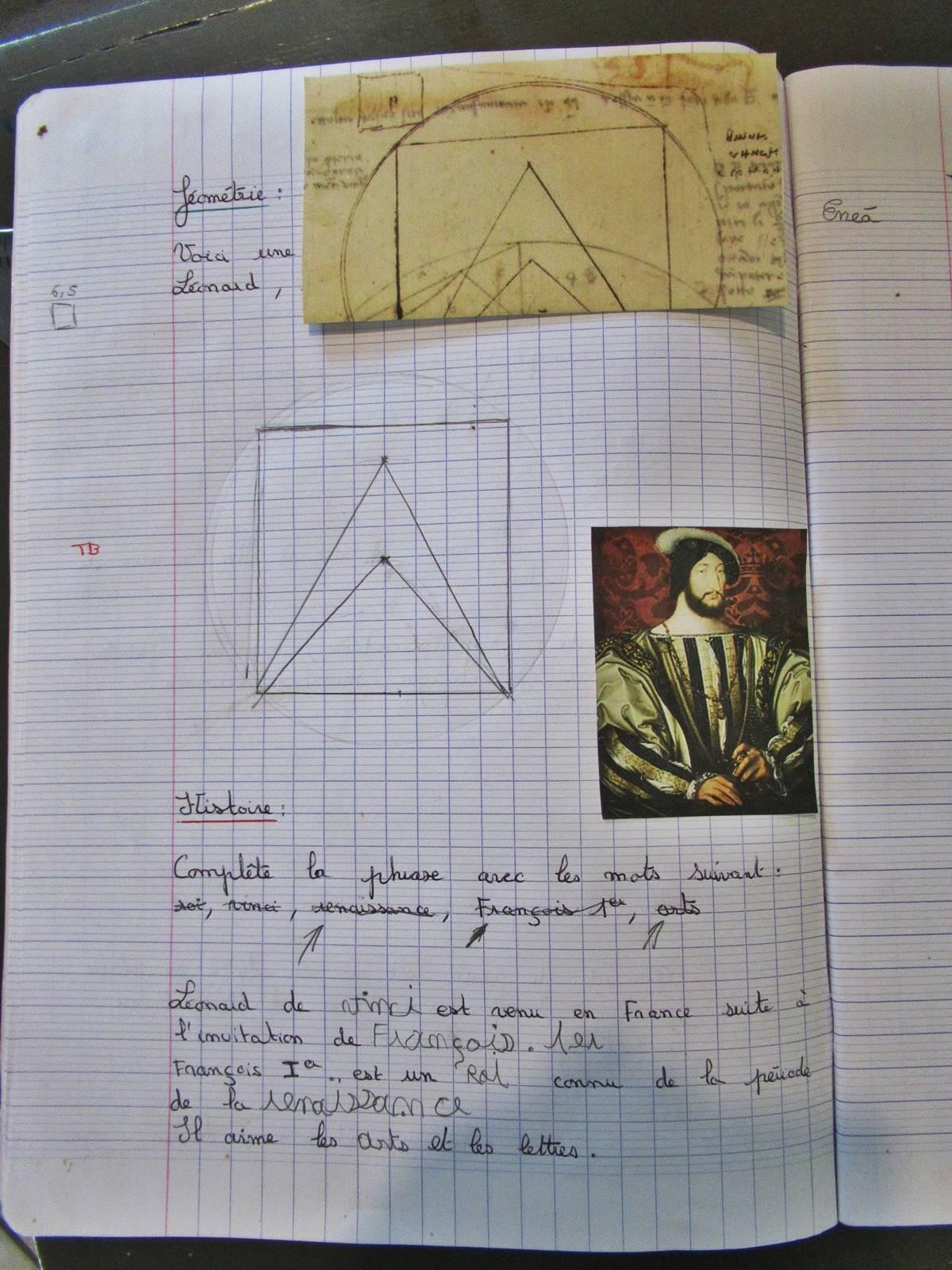 Travail pluridisciplinaire leonard de vinci 7