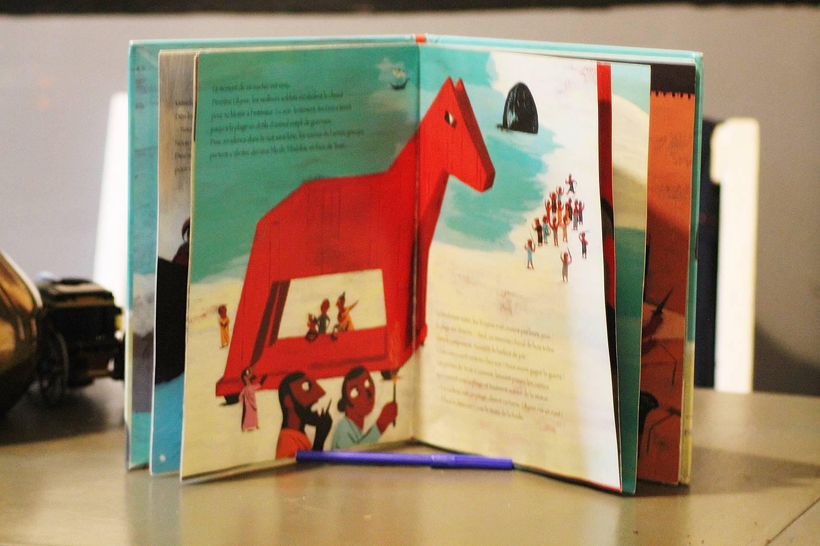 Ulysse et le cheval de troie milan jeunesse 2