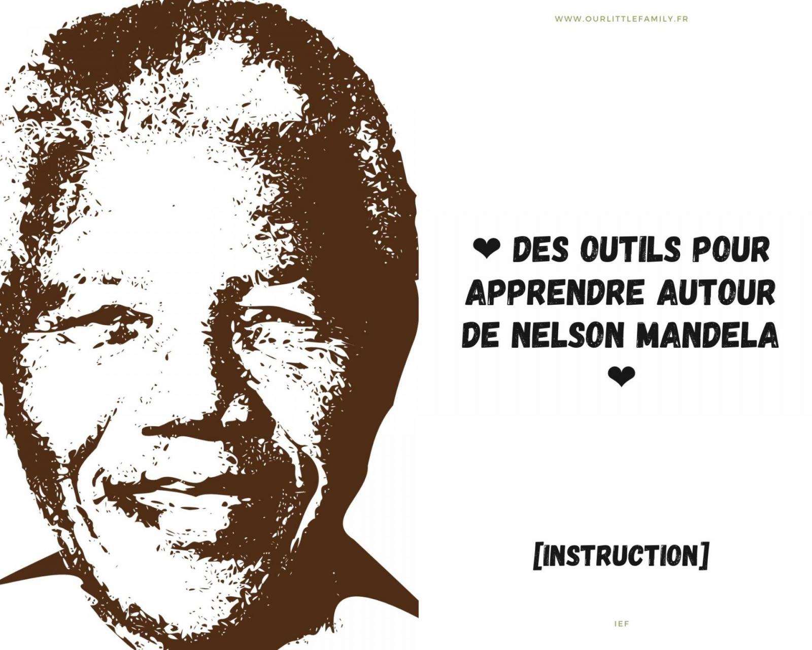 instruction autour de Nelson Mandela