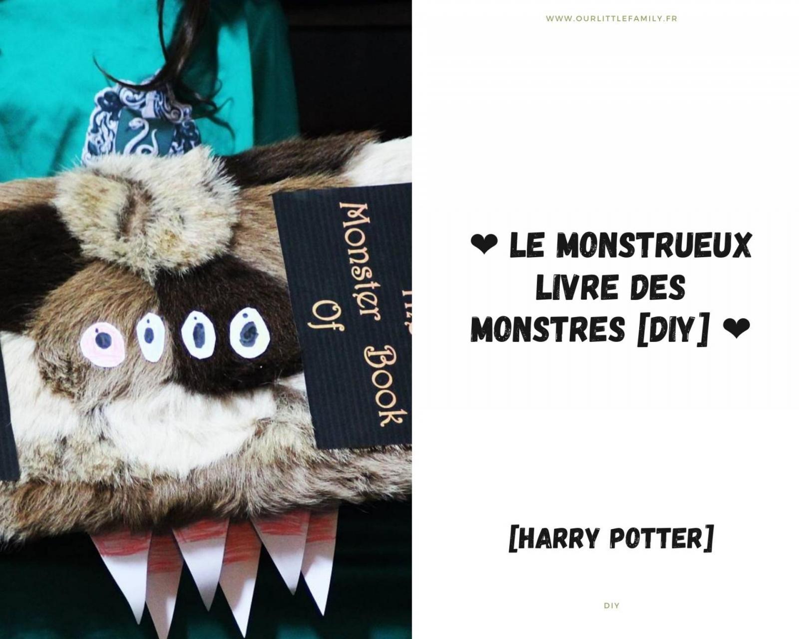 Le monstrueux livre des monstres [DIY HARRY POTTER]